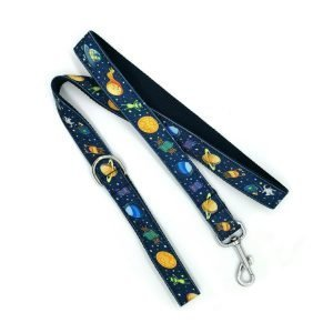 Space Themed Dog Leash - My Little Space Cadet - Cute Pup Gear